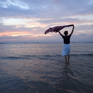 闸坡游记图文-在南方的艳阳里  浪花纷飞