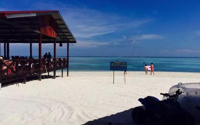 我的美丽度假——沙巴亚庇之环滩岛之旅