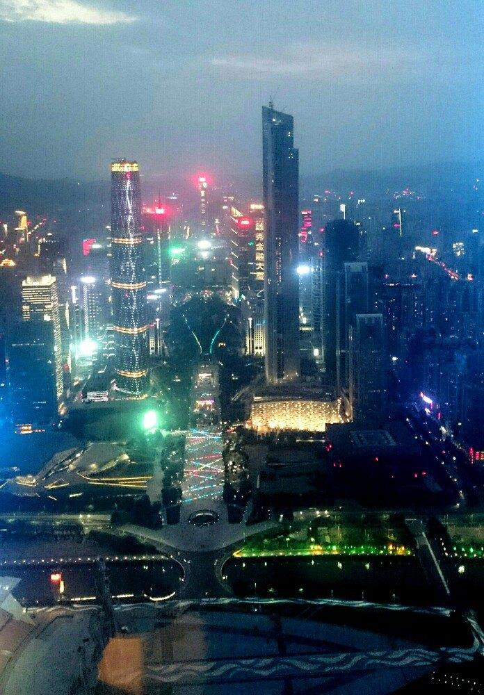 广州塔内部图片_【携程攻略】广州广州塔景点,在小蛮腰上能俯瞰整个广州,晚上 ...