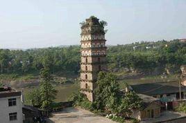 广安白塔旅游景点攻略图