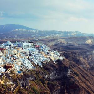 卡兰巴卡游记图文-蓝白色的浪漫-Greece