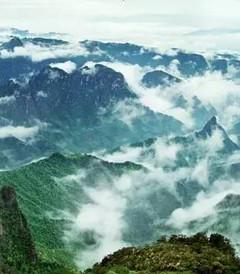 [金秀游记图片] 走进金秀大瑶山1:美丽的圣堂山