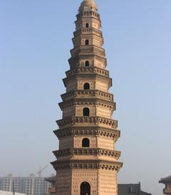 [安阳游记图片] 寻塔之旅之二十四--河南滑县明福寺塔
