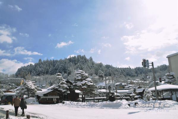 【Yo小姐出品之悠游系列】冬季,留恋于白色童话世界~温泉+雪景~日本中部下吕、高山&白川乡