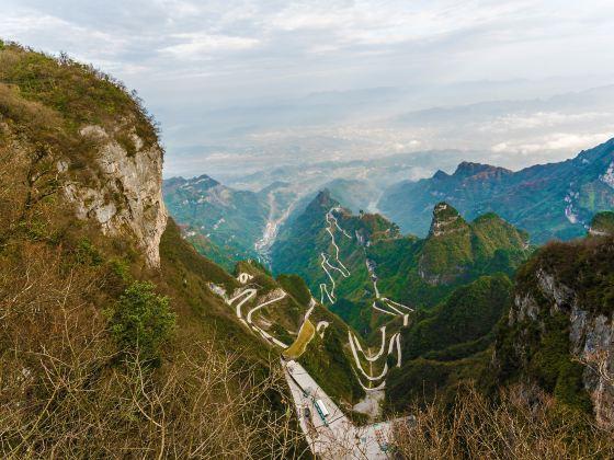 Tianmen Mountain Heaven-Linking Avenue