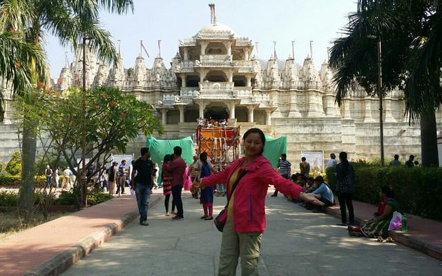 外语盲百日六国游第四十一天:印度乌代布尔~千柱庙~印度第六站  焦特布尔