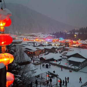 安图游记图文-哈尔滨-雪乡-长白山-雾凇岛扶老携幼8天赏雪行