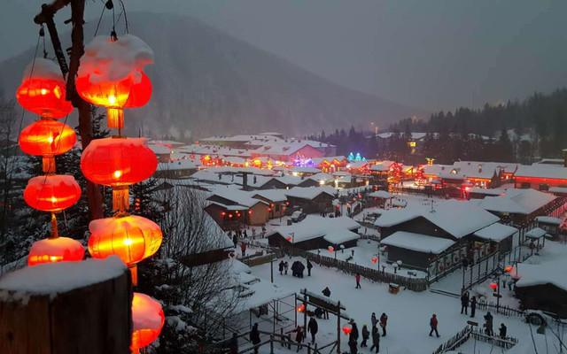 哈尔滨-雪乡-长白山-雾凇岛扶老携幼8天赏雪行