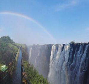 纳米比亚游记图文-非洲之行(第一篇)——维多利亚瀑布记