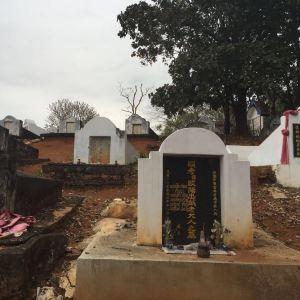 中国将士之墓旅游景点攻略图