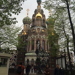 西北部联邦管区游记图文-诗情画意的圣彼得堡