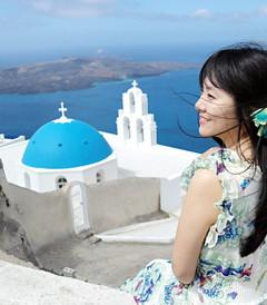 [雅典游记图片] 希腊 永恒的蓝白世界