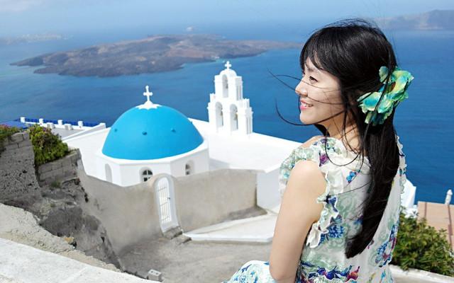 希腊 永恒的蓝白世界