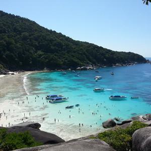 兰塔岛游记图文-春节:完美的沙滩、安达曼海上四天四夜的船宿,诗米兰达差兰塔普吉(补发,第一部分)