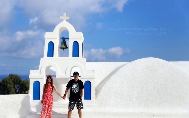 ☀Mr.Black&Ms.White☀找寻蓝白间最纯净的自己~希腊之旅全攻略(含圣托里尼、扎金索斯)