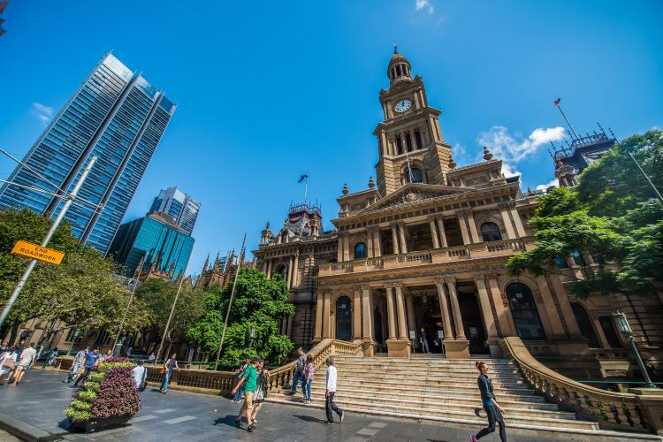 Sydney Town Hall1