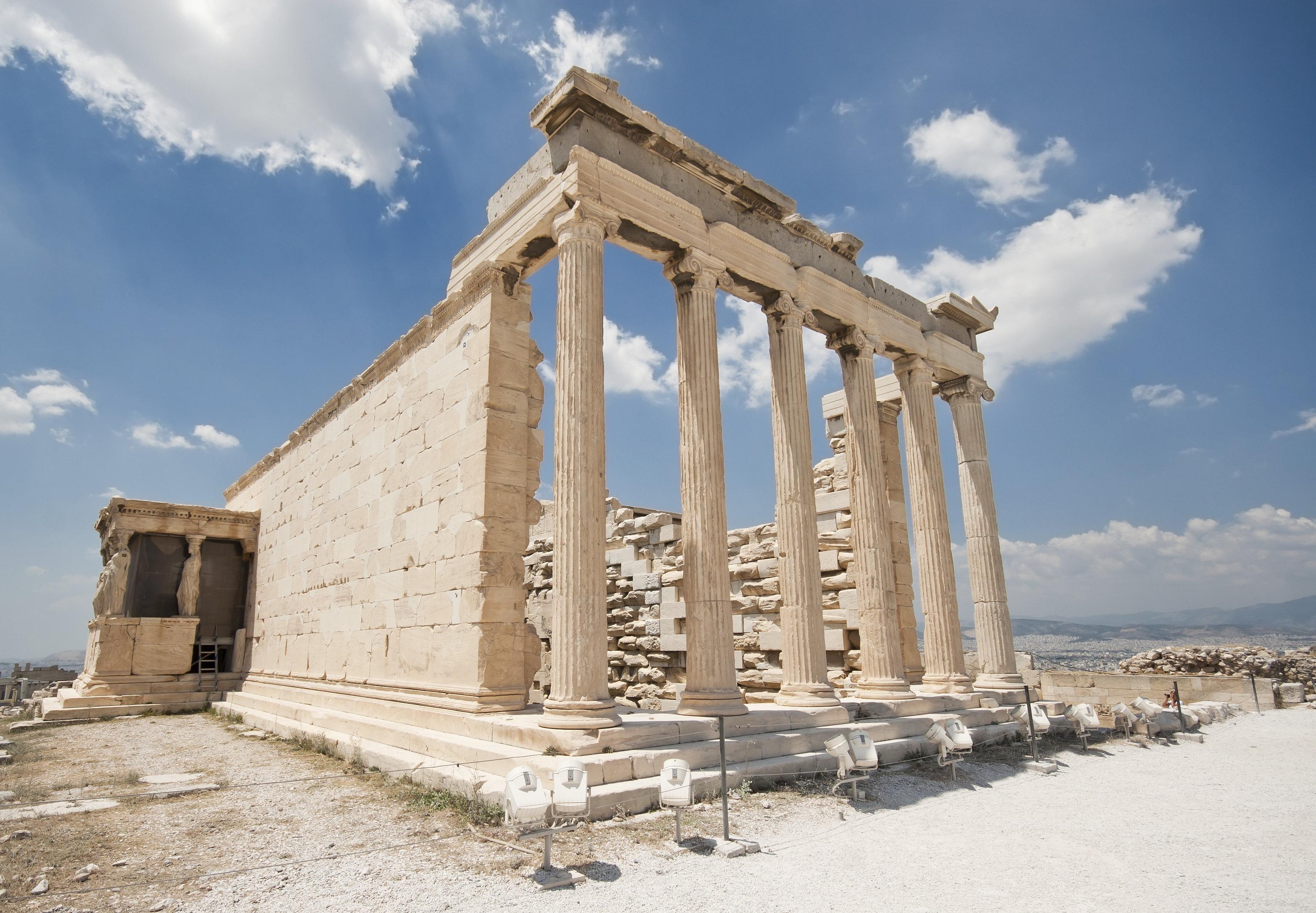 胜利女神殿旅游景点图片