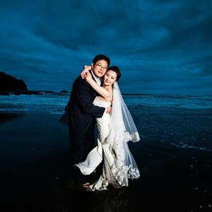 束草市游记图文-幸福回忆:新西兰婚礼婚纱蜜月之旅