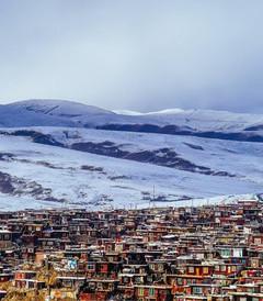[甘孜县游记图片] 皈依在云端雪域——冬季川西北寻佛行摄记