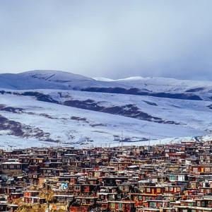 白玉游记图文-皈依在云端雪域——冬季川西北寻佛行摄记