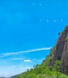 [临朐游记图片]   六月沂山一日游: 景区东大门+百丈瀑布+吕祖洞+沂山森林餐厅+古松群+东镇庙