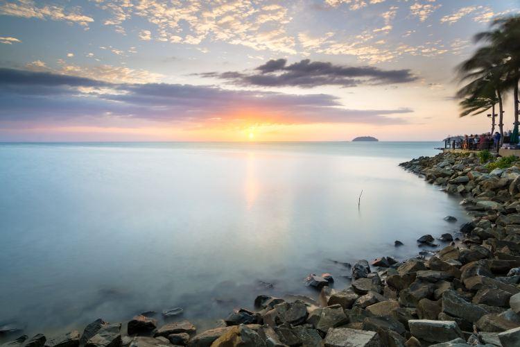 탄중아루 해변3