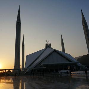 伊斯兰堡游记图文-伊斯兰的堡——世界最大清真寺