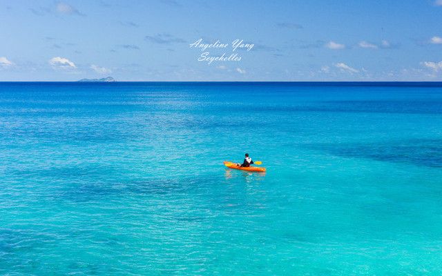 深深陷入Tiffany蓝——塞舌尔的那片海(情侣蜜月度假天堂)