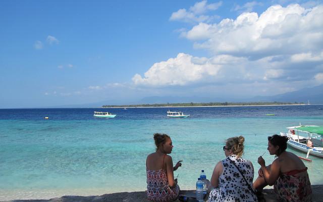 第四次印尼行:巴厘岛、宁静的吉利岛,日惹婆罗浮屠(补发,第一部分)