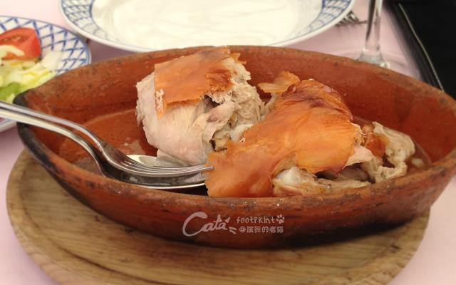 #晒美食#古罗马水渠下的烤乳猪——吃货的浪漫小城