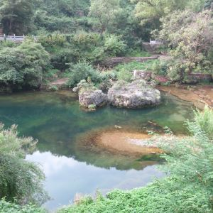 九莲山景区旅游景点攻略图