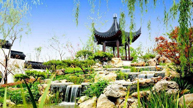 Wuqing Nanhu Green Expo Park3