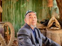 新疆風情:吐魯番吐峪溝的千年土村