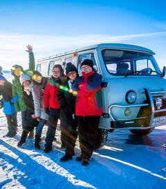 [贝加尔湖游记图片] 【冰蓝之眸】踩着贝加尔湖的蓝冰迎接我们的2016(更新完毕)