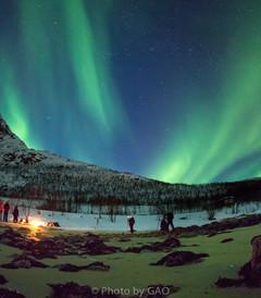 [挪威游记图片] Aurora——让挪威的冬季,如烟花般绚烂