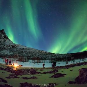 特罗姆瑟游记图文-Aurora——让挪威的冬季,如烟花般绚烂
