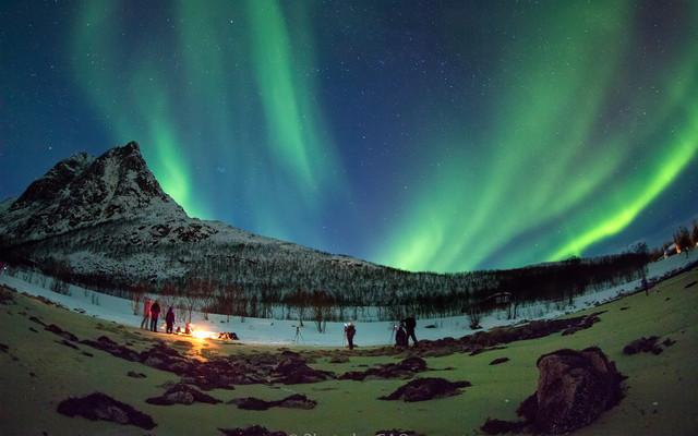 Aurora——让挪威的冬季,如烟花般绚烂