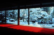 江户时代新泻伊藤大地主的庄园,春天的时候满院子都是紫藤花,冬天因为此地雪量丰富也别有一番景色,但无奈
