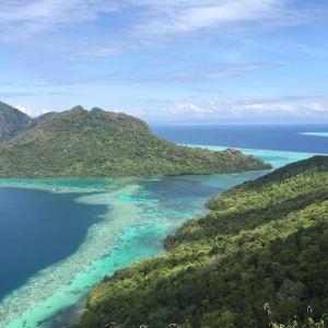 甲米天堂岛旅游景点攻略图