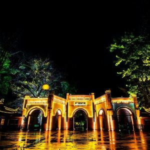 灌县古城旅游景点攻略图