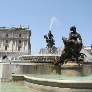 仙女喷泉旅游景点攻略图