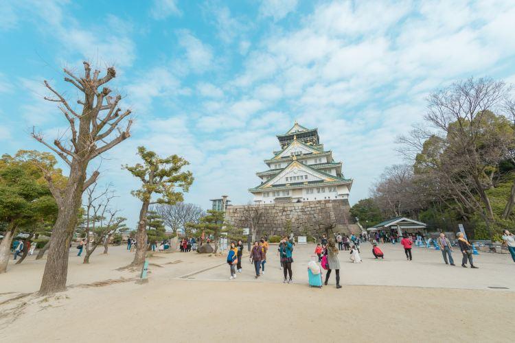 오사카 성1