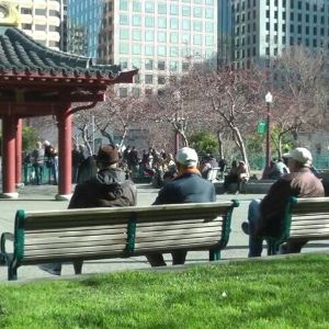 花园角广场旅游景点攻略图