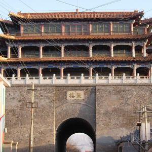 鼓楼(蔚州城墙)旅游景点攻略图