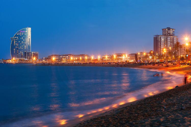 巴塞羅那塔海灘4