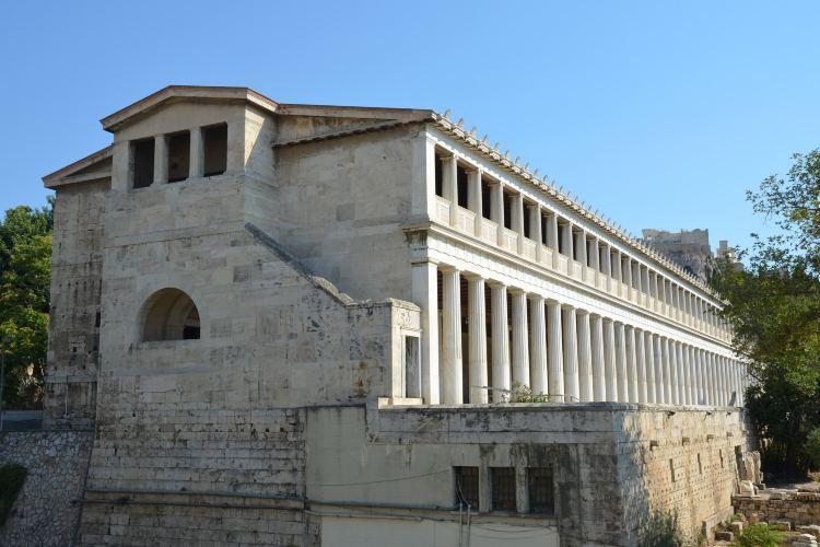 阿塔羅斯柱廊1