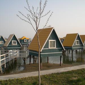 """乐亭游记图文-(五一短途游) 河北乐亭""""月坨岛"""" 感受荷兰风情"""