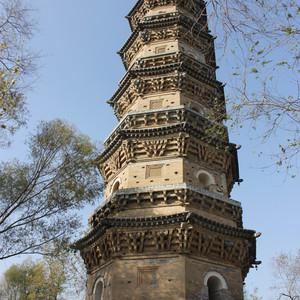 衡水游记图文-寻塔之旅八-河北衡水故城庆林寺塔