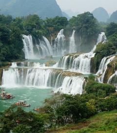 [贺州游记图片] 亚洲第一跨国瀑布:德天大瀑布+通灵大峡谷+梧州+黄姚古镇自驾4日游