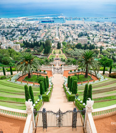 [海法游记图片] 【以色列】海法 迷醉巴哈伊花园